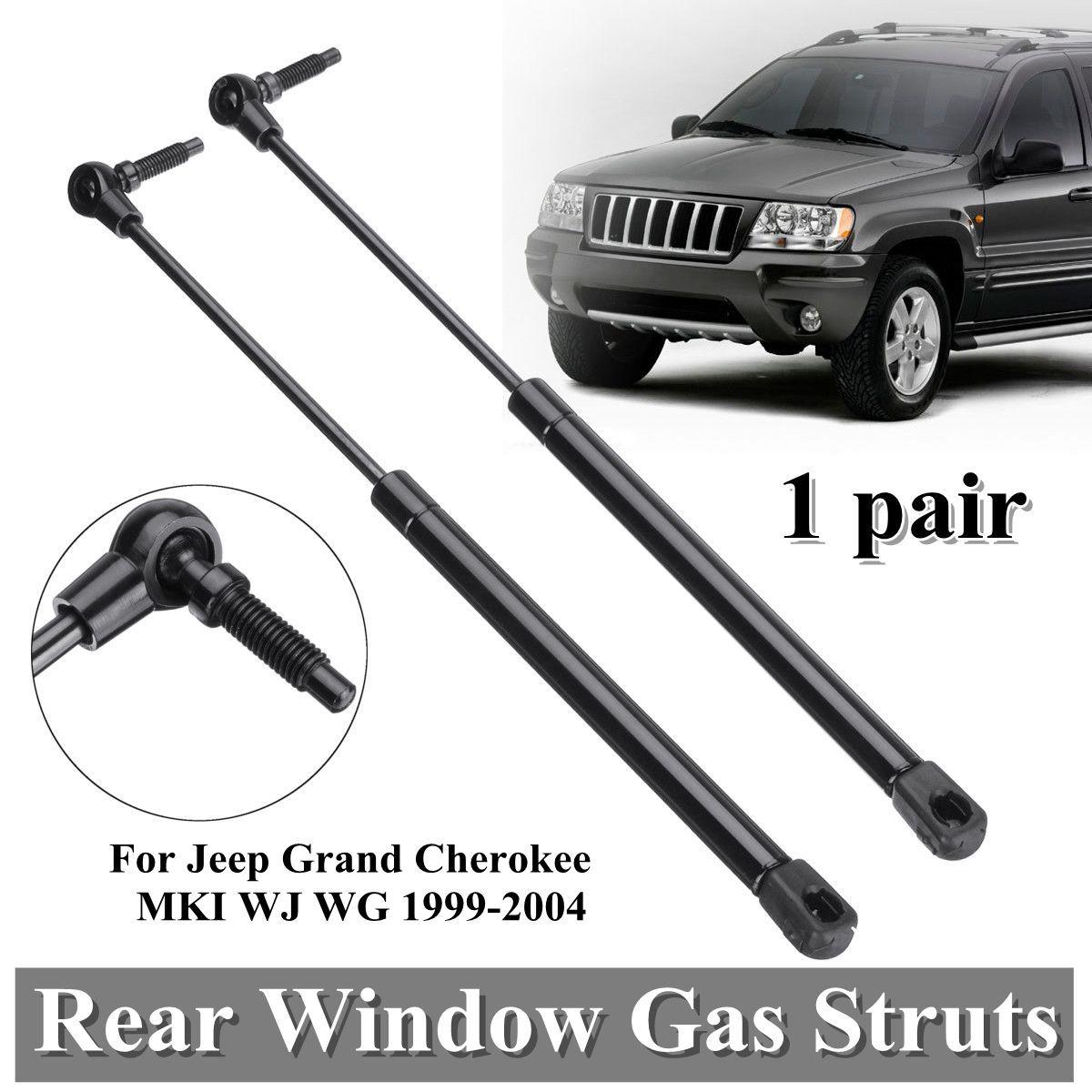 2 stücke Hinten Fenster Boot Gas Unterstützung Federbeine Für Jeep Grand Cherokee MKI WJ WG 1999-2004 55136761AA 55136965AA