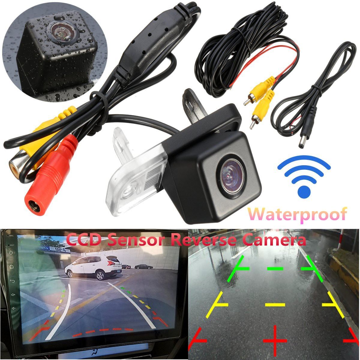 Car Camera For Mercedes/Benz C-Class W203 W211 CLS W219 HD Wide Lens Angle CCD Night Vision Rear View Camera