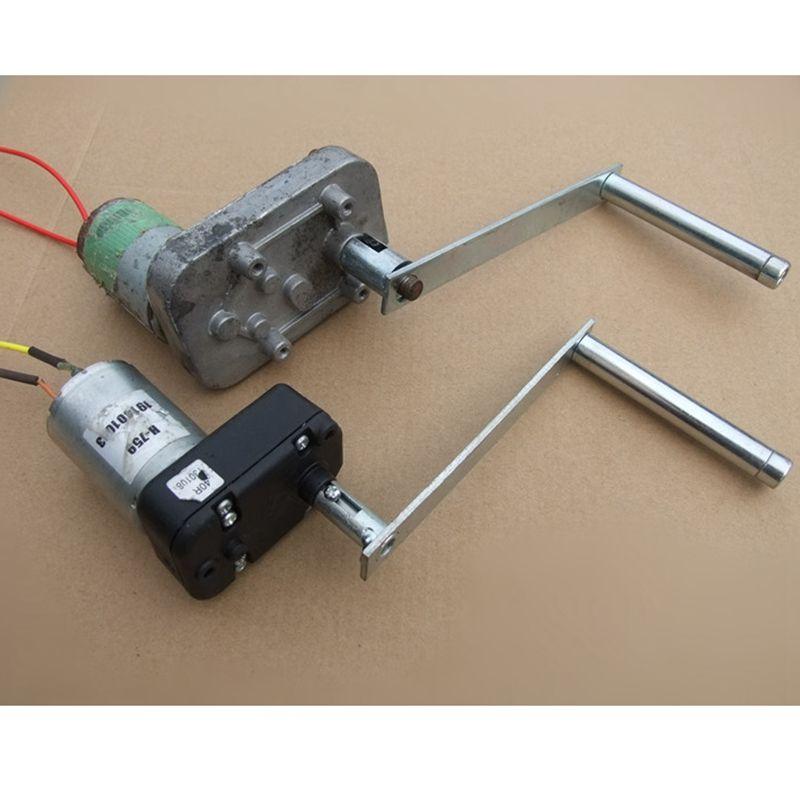 Manivelle électrique pour générateur d'énergie éolienne Dynamo générateur à courant continu 8mm 1 pièces