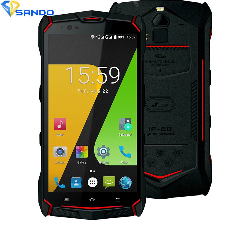 JESY J9 Waterproof new mobile phone IP68 4G Shockproof Phone 4G RAM 64GB ROM Smartphone 5.5