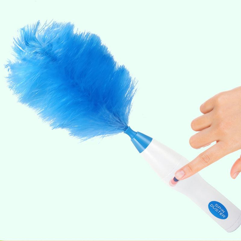 Multifunctional Electric Feather Duster Dust Cleaning Brush For House Blind Electronics Duster Window Bookshelf Clean Tool