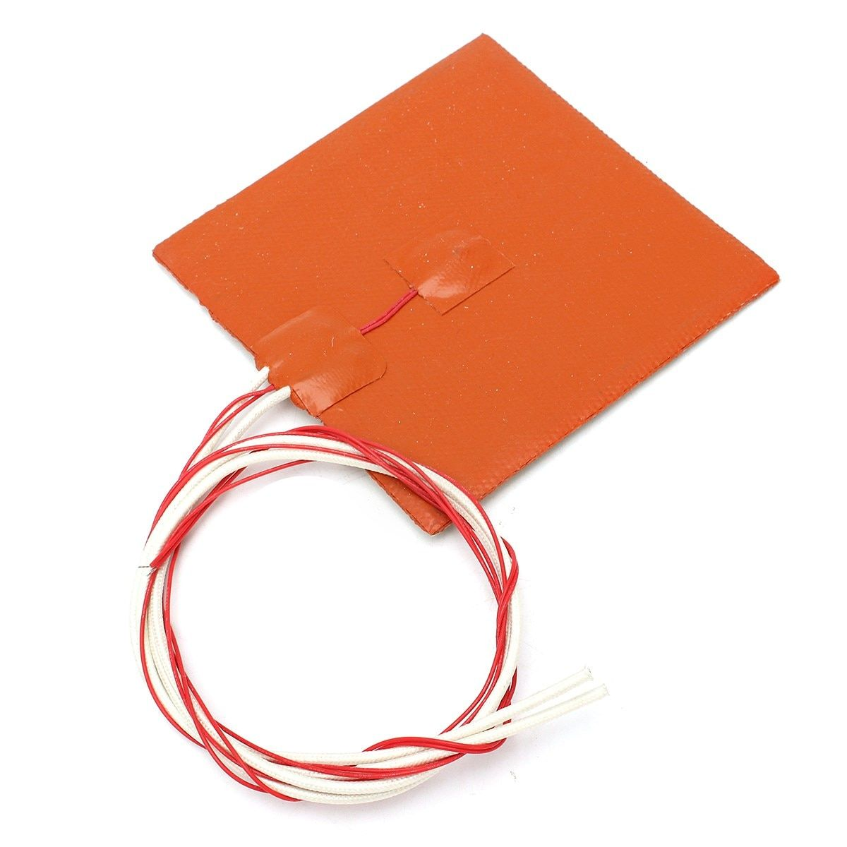 New 12x12cm 120W 12V Silicone Heater Pad For 3D Printer Heated Bed Heating Mat 3D Printer Parts & Accessories