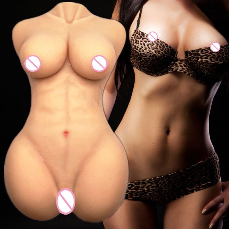 2018 Real Top Fashion Adult Doll For Sex Robot Dolls Realistic Tpe For Men With Big Boobs Anal Vagina Pussy Falt Back Sexdoll