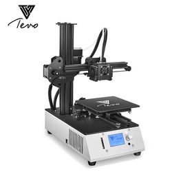 Новый TEVO Michelangelo Impresora 3D принтер Полностью Собранный 3d Принтер Комплект полностью алюминиевая рама с титановым Экструдером