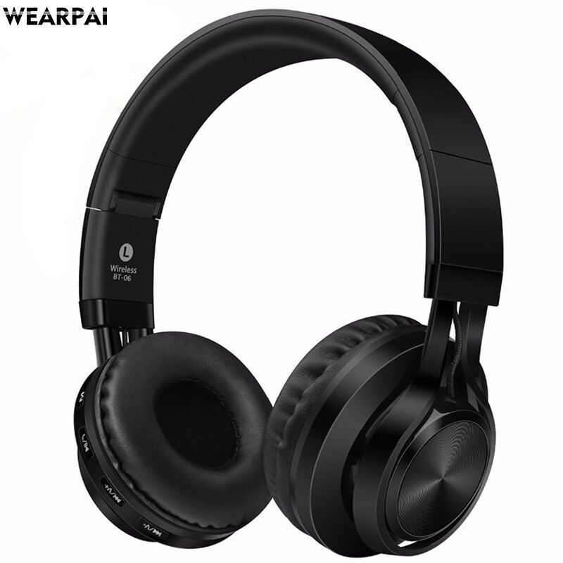 Wearpai BT06 Wireless Bluetooth Kopfhörer Headset mit mikrofon