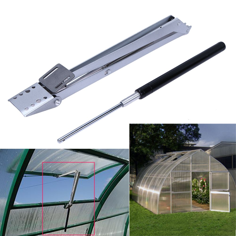 1pcs Automatic Window Opener Solar Heat Sensitive Automatic Thermo Greenhouse Vent Window Opener Maximum 45cm Windows Opening