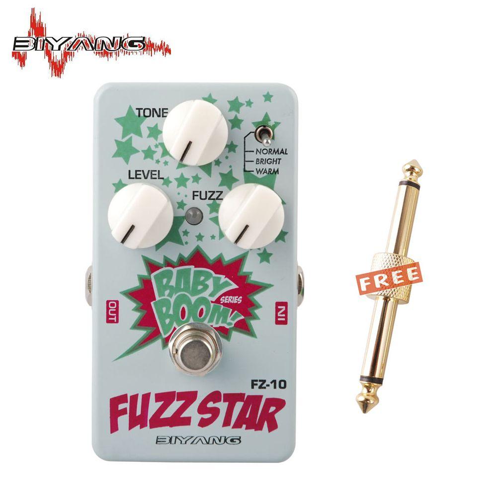 Biyang Baby Boom FZ-10 Electric Guitar Effect Pedal Three Models Fuzz Star Distortion True Bypass Musical Instruments 250 D