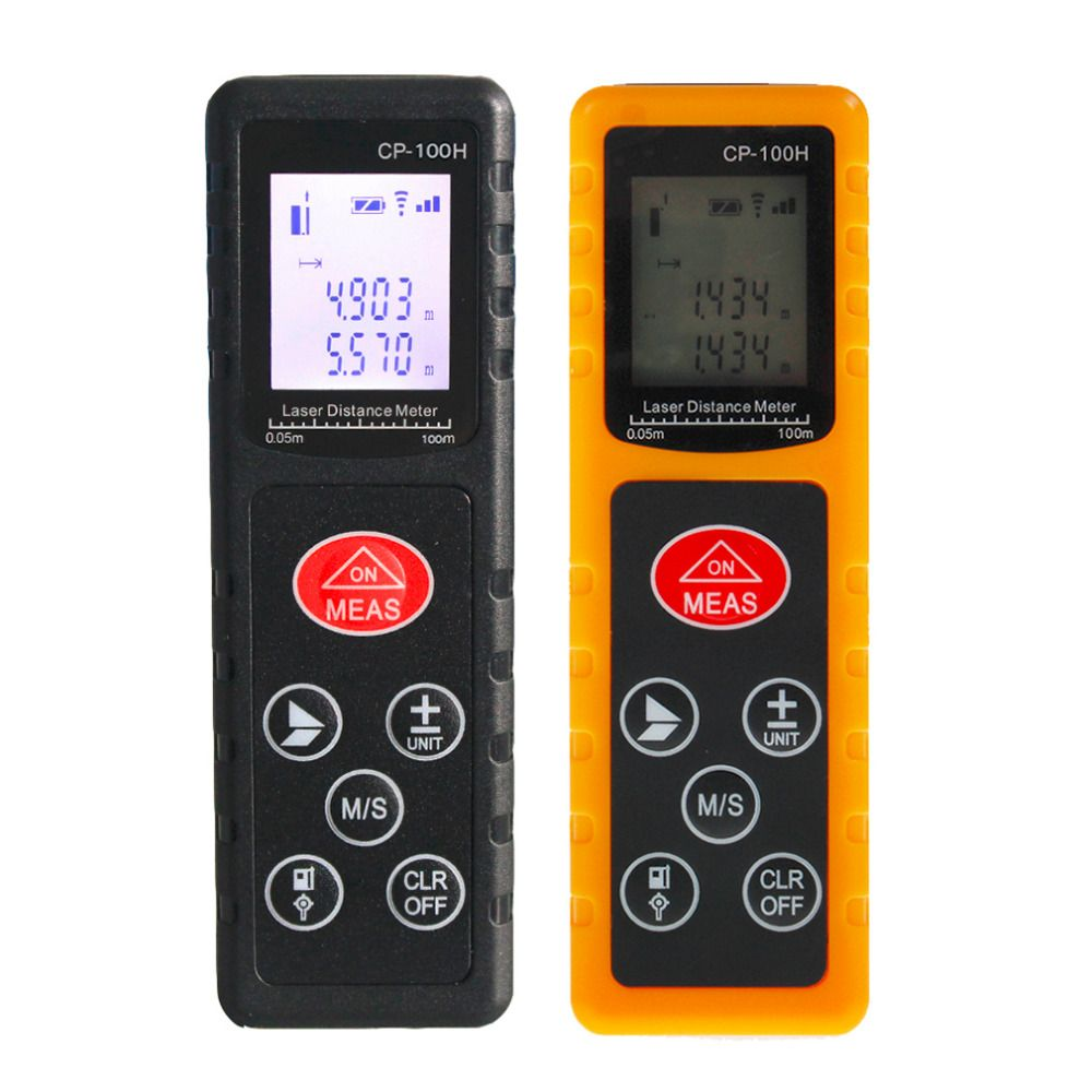 2017 NEW CP-100H Mini 100M Handheld Digital Laser Distance Meter Range Finder Diastimeter For Construction Industries