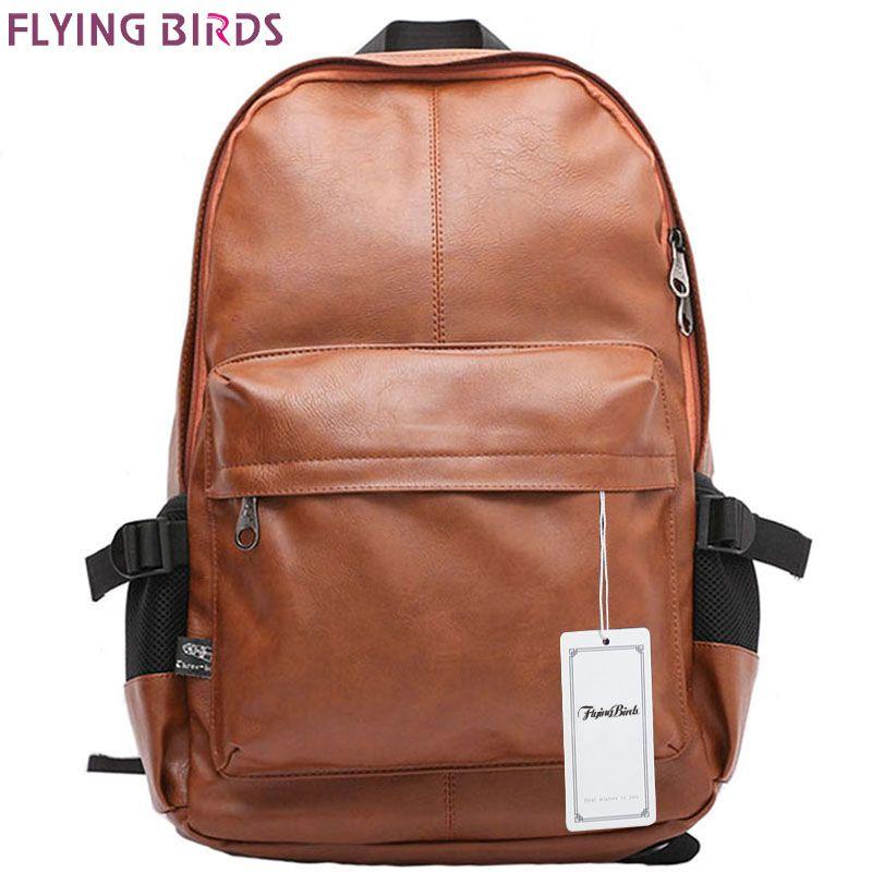 Летящие птицы! Рюкзак Mochila мужские дорожные сумки мужские рюкзаки школьные сумки кожа высокого качества рюкзаки подростковые lm0330