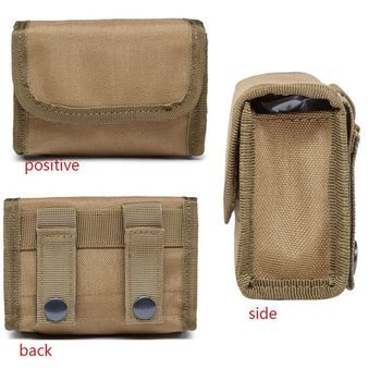 Portable Tactical 10 Round Shotgun Shotshell Reload Holder Molle Pouch For 12 Gauge/20G Magazine Pouch Ammo Round Cartridge Hold
