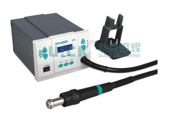 QUICK Spot 861DW Hot Air Rework station soldering station, free tax to Russia