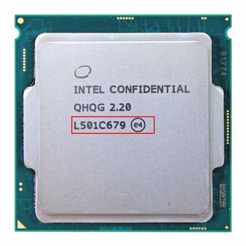 QHQG ES CPU INTEL Engineering-version von intel core I7 6700 Karat I7-6700KCPU 2,2G 65 Watt grafiken HD530