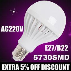 Wholesale Lamparas E27 LED Lamp 220V 3w 5w 7w 9w 12w 220V LED Bulb led Light bulb leve bulbo Bombillas luz Lampada Led Bombillas