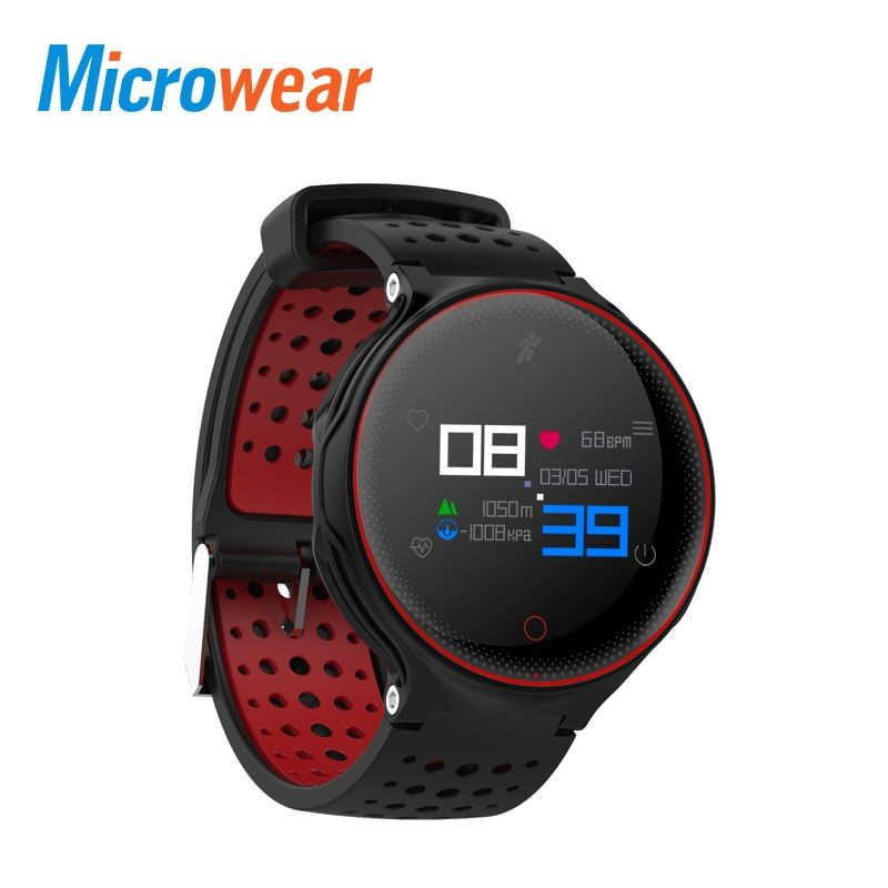 Microwear X2 Plus Smart Bracelet Heart Rate Monitor Pedometer Sleep Tracker Smart Band Fitness Tracker for Android IOS iPhone
