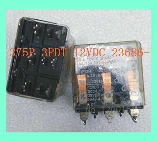 375 P 3PDT 12VDC 23686-70