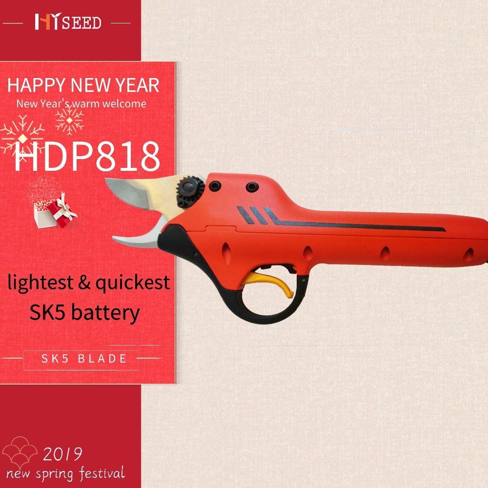 HDP 818 Lithium-batterie weinberg elektrische schere beste garten werkzeuge