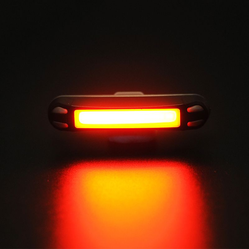 ROCKBROS Bicycle Light Bike Cycling Waterproof Tail Light 30LED Super Light With USB Rechargeable Safety Night Riding Rear Light