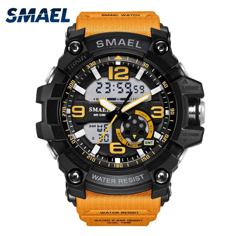 S Shock Military Watches Army Men's Wristwatch LED Quartz Watch Digtial Dual Time Men Clock 1617 reloj hombre Sport Watch Army