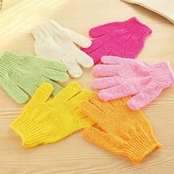 1pc Bathwater Scrubbing Gloves Bath Gloves Shower Exfoliating Bath Glove Scrubber Skid resistance Body Massage Sponge Gloves