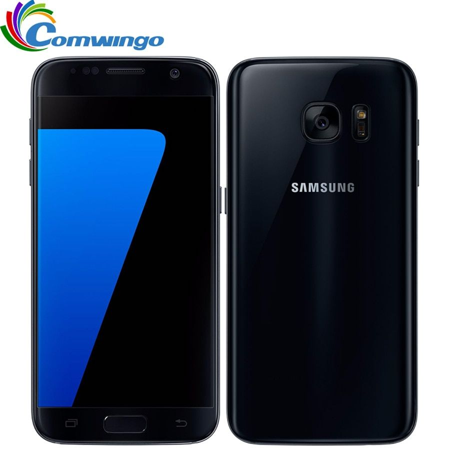 Original Unlocked Samsung Galaxy S7 4GB RAM 32GB ROM Android Smartphone 5.1'' 12MP Quad Core NFC 4G LTE Cellphone s7 G930V G930A