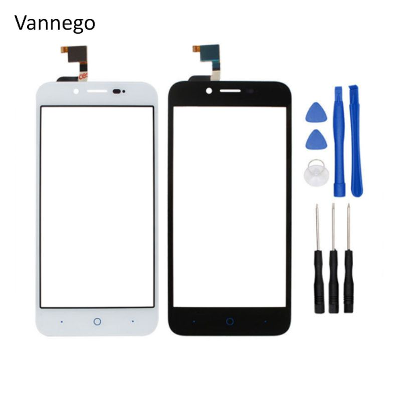 Vannego Touch Panel For ZTE Blade L4 A460 Touch Screen Digitizer Front Outer Glass Lens Sensor + Tools free shipping