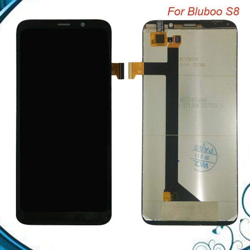 Tested OK For BluBoo S8 LCD Display and Touch Screen Digitizer Assembly Replacement Free shipment IN Stock