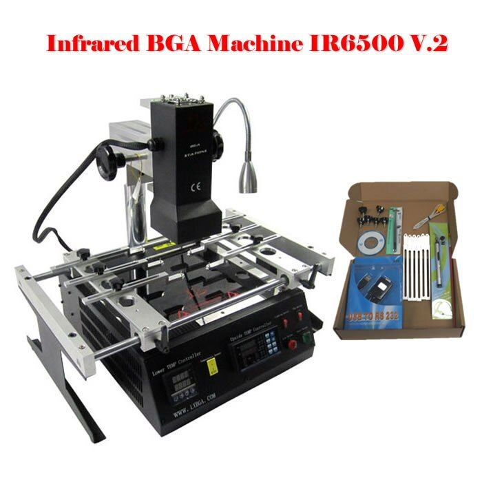 LY IR6500 V.2 High-precision Infrared BGA Rework Station