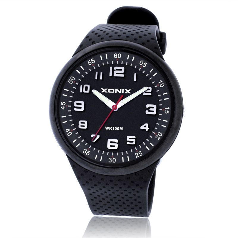Haut à la mode hommes montres Top marque luxe sport montres étanche 100 M Quartz Montre natation plongée horloge à main Montre Homme