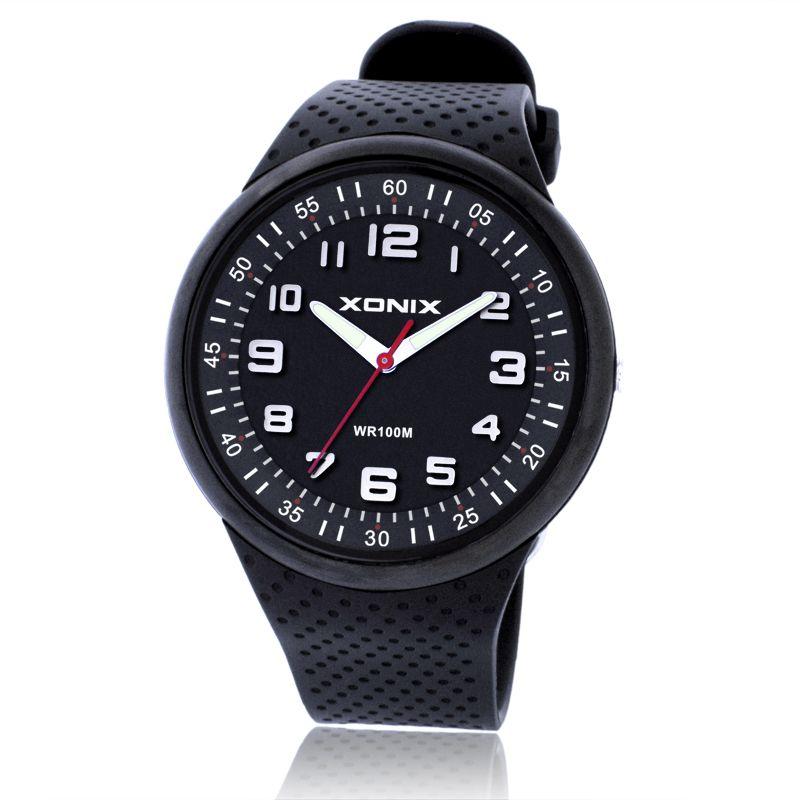 TOP Mode Hommes Montres Top Marque De Luxe Montres de Sport Étanche 100 M Quartz Montre De Natation Plongée Main Horloge Montre Homme