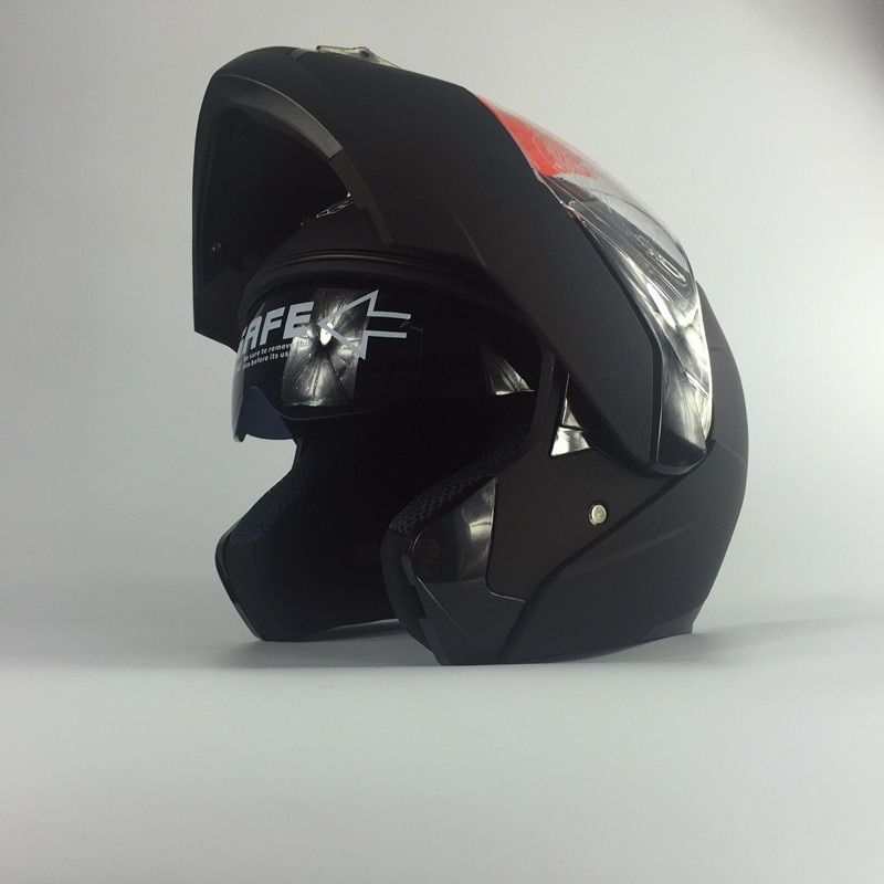 Newest helmets AKT168 filp up motorcycle motocrossAKT helmets double lens helmets racing helmet