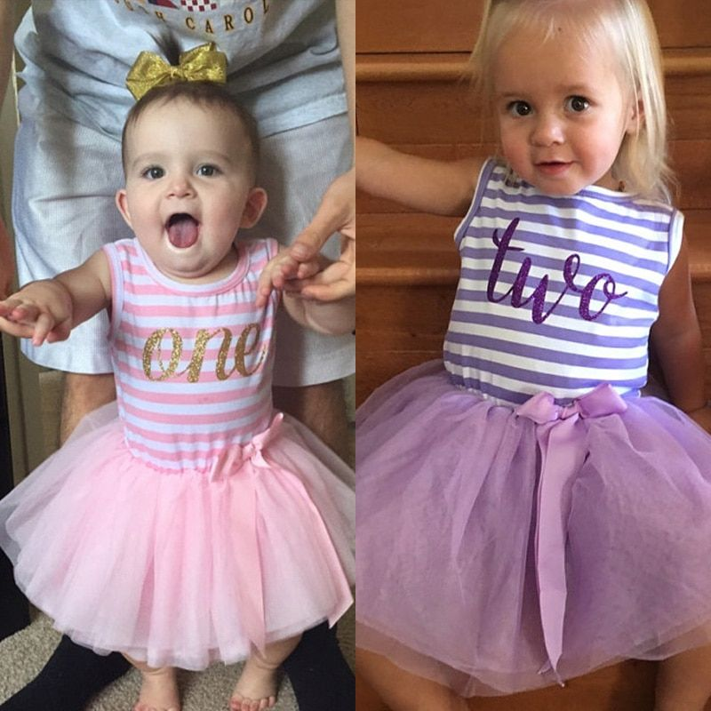 Children's Clothing Girl Clothes Fancy Tutu Dress for Baby Girl 1st 2nd 3rd Birthday Outfits Kids Dresses For Girls Party Wear