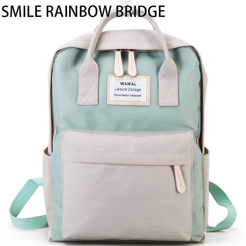 Brand Large Lady Fashion Waterproof Laptop Backpack Women School Backpacks Travel Casual Lady Shoulder Mochila Multifunctional