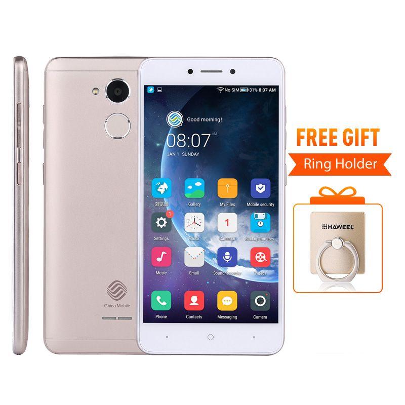 China Mobile A3S M653 Snapdragon 425 Quad-Core 5.2 HD 1280*720P 2GB RAM 16GB ROM Fingerprint Daul SIM Card FDD-LTE Mobile Phone