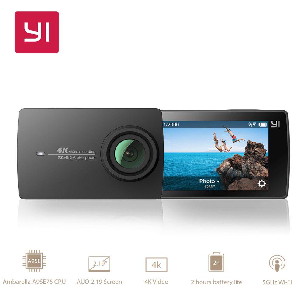 YI 4 Karat Action Kamera Xiaomi Yi Sport Cam Wifi 2,19