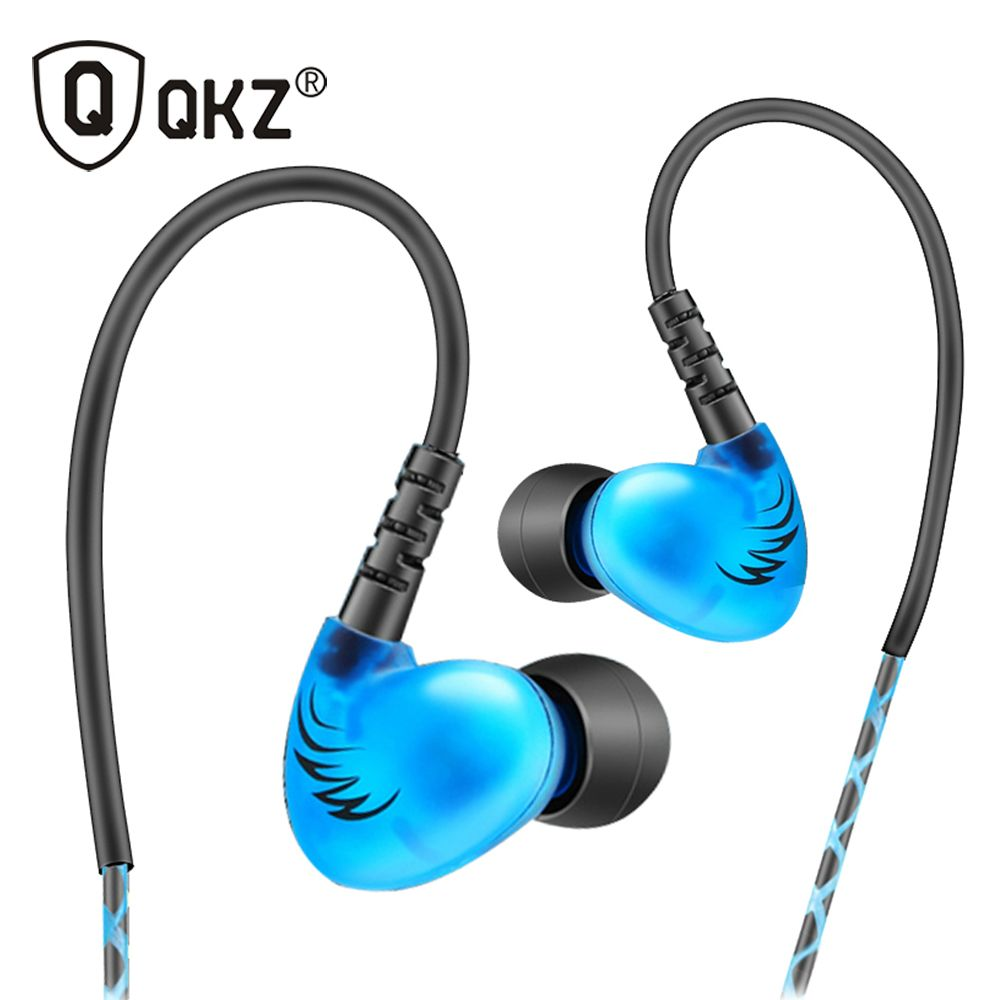 QKZ S6 Sport Casque Mobile Téléphone Écouteurs Bruit HIFI Annulation Basse Casques Musique Stéréo Casque