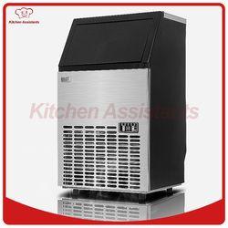 HZB50 caliente 50kgs/24 h fabricante de hielo automático, cubo de hielo del hogar que hace la máquina para el uso comercial para bar para cafetería,