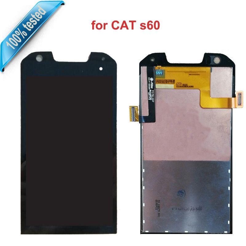 Für Caterpillar Cat S60 LCD Display Touchscreen Ersatz Digitizer Montage Für Katze S60 S 60 Handy ersetzen lcds