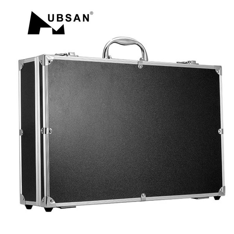 High Quality Outdoor Use Aluminum Suitcase Carrying Box Case For Hubsan H501S RC Quadcopter