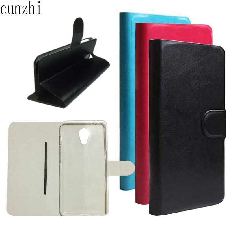 cunzhi Elephone P8 Case 5.5inch , Soft TPU Shell Inner + PU Leather Flip Back Cover Case For Elephone P8