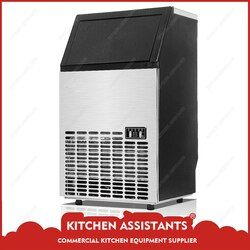 HZB50/60/80 Electric Automatic Commercial or Home Ice Maker 220V 110V 50KG 60KG 80KG/24 Hours Ice Cube Machine Cube Ice Maker