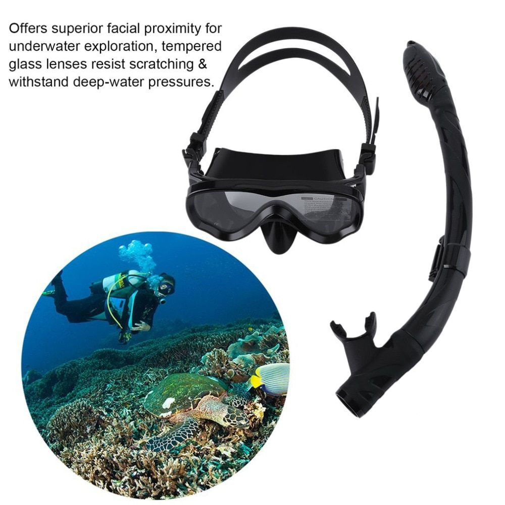 ALOMA Safe Kids Scuba Diving Mask Professional Silicone Snorkel Mask Durable Diving Masks Set Anti-Fog Comfortable Mask from Ru