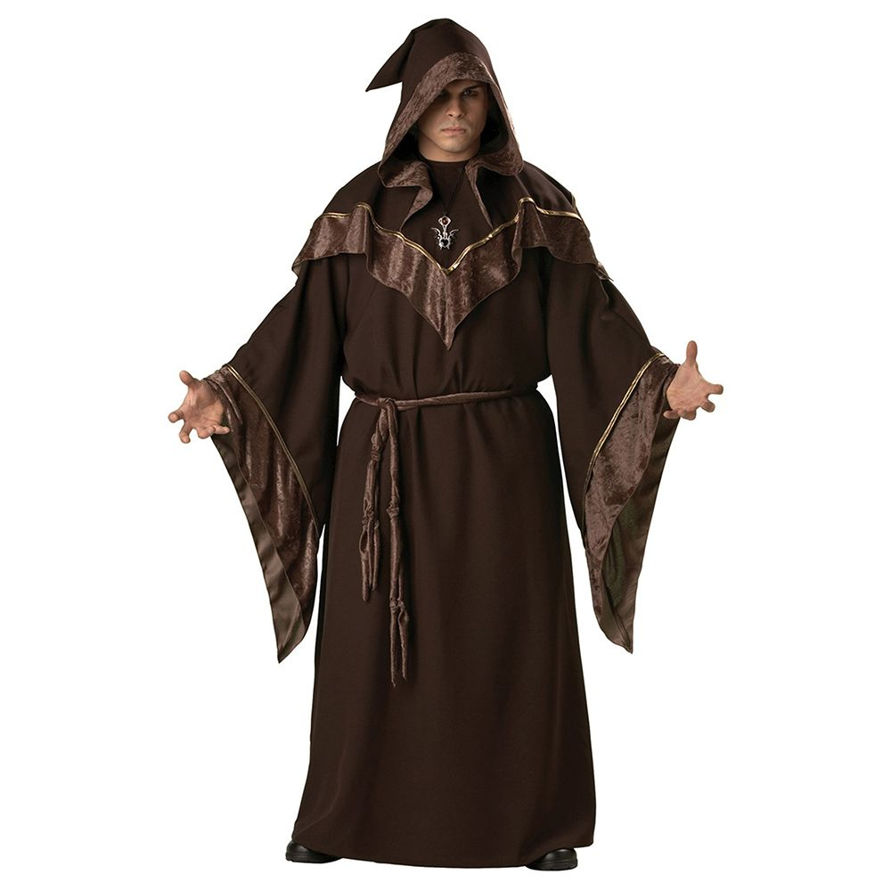 Adult Mens Gothic Wizard Costume European Religious Men Priest Uniform Fancy Cosplay Costume for Men Halloween costumes