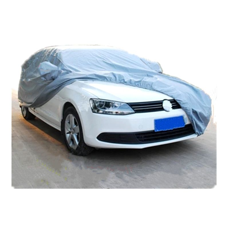 Car covers Size S/M/L/XL Waterproof Full Car Cover Sun UV Snow Dust Rain Resistant Protection Gray  free shipping