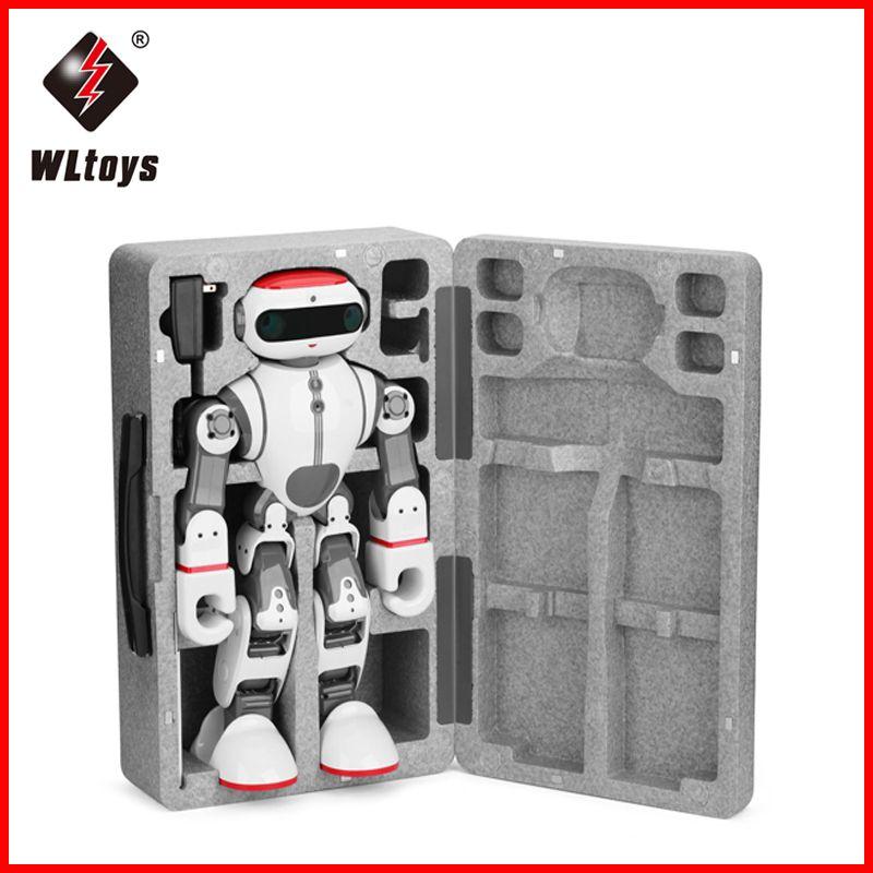 WLtoys F8 Dobi fernbedienung roboter spielzeug telefon control tanzen geschichte walking Intelligente roboter spielzeug smart pädagogisches spielzeug