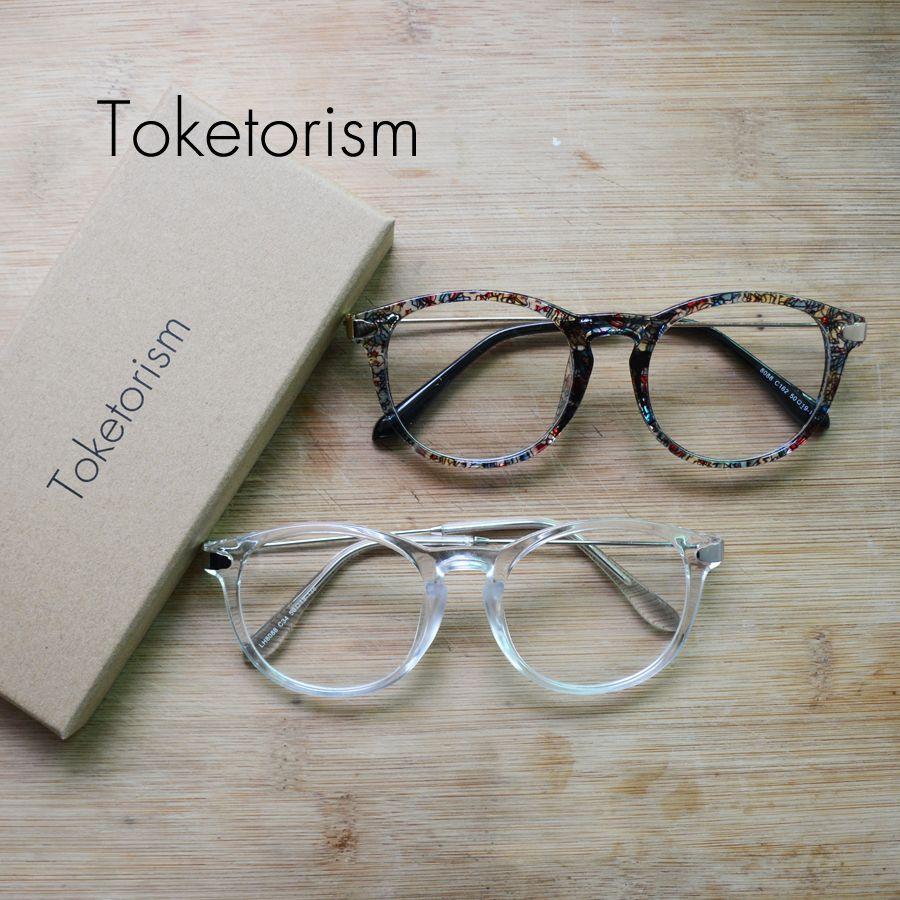 Toketorism mode transparente brillen klassische optische gläser rahmen für frauen und männer 8808