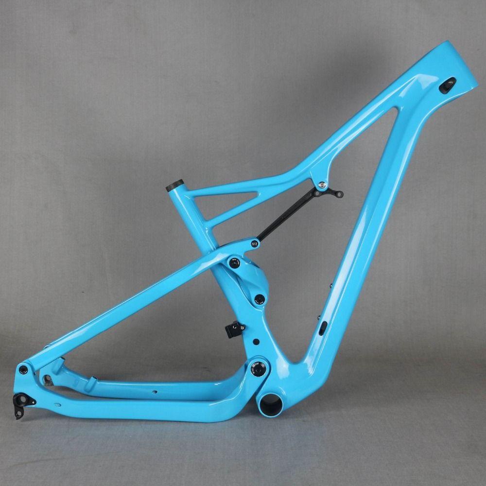 Kostenloser versand suspension rahmen 27.5er boost und 29er Boost MTB carbon fahrrad rahmen XC 29er boost suspension rahmen