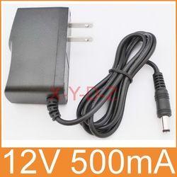 1 PCS de Haute qualité AC 100 V-240 V Convertisseur de Commutation power adapter DC 12 V 500mA 0.5A Fournir US Plug DC 5.5mm x 2.1mm