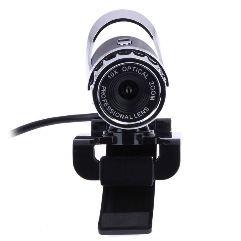 Usb 2.0 webcam 12,0 mega pixel webcam 360 grad mic clip-on für skype computer laptop notebook