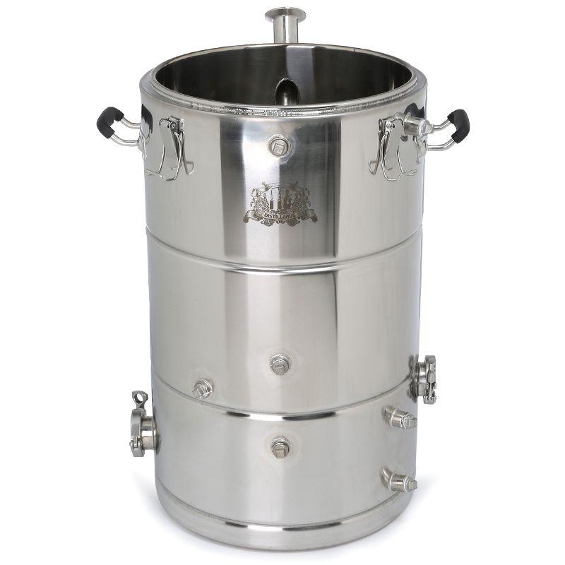 NEW 50l steam jacket SS304 boiler. Multifunction tank. Mash tank SS304. Alcohol Whisky Water Distiller Cooler Moonshine Boiler