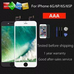 AAA schermo LCD For iPhone 6 6s plus LCD Screen Replacement Digitizer Touch Screen with Frame Display Assembly with 3D Touch